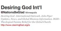 Desiring God International Logo