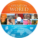 The cover for the Operation World DVD-ROM