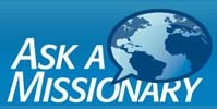 Ask A Missionary Logo