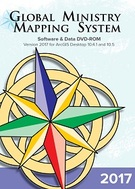 The Global Ministry Mapping System logo