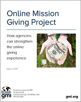 Online Mission Giving Project